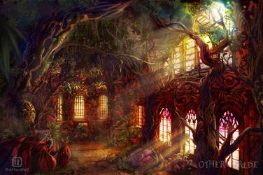 Greenhouse for voracious plants