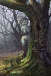 Forest nymph by MalthusWolf