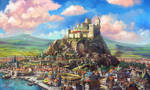 The city of Canyndor by MalthusWolf