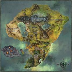 FHX World map