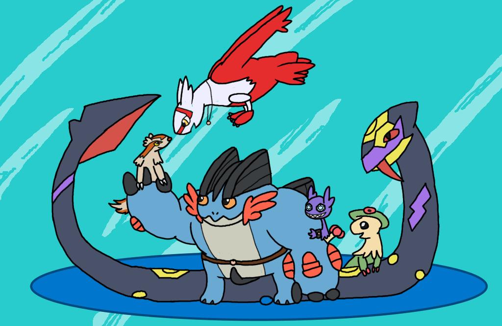 Alpha Sapphire Team by HazelHolly
