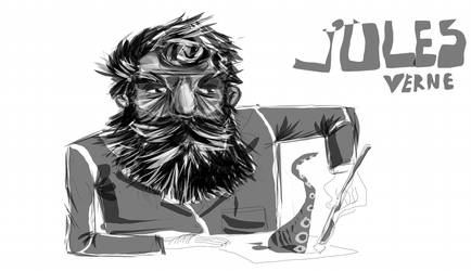 Jules Verne by richguard