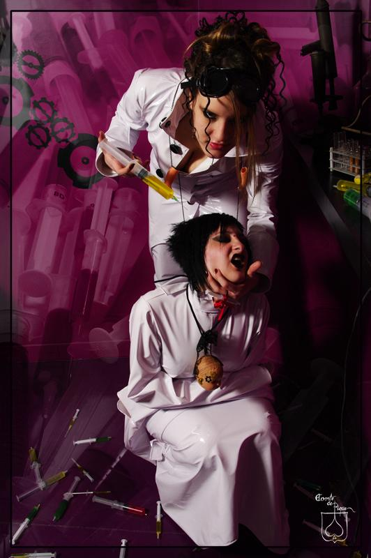 doctor crazy and asilyum by BlackNorns