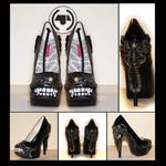 Alien giger prometheus shoes