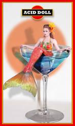 martini mermaid 2 - acid doll