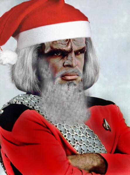 Santa Worf