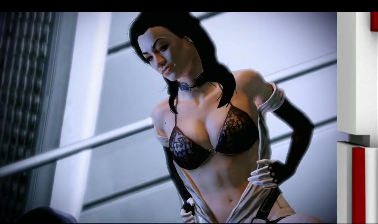 Naked miranda from mass effect xxx clip