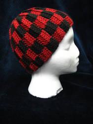 Checkered Hat by dhaskoi