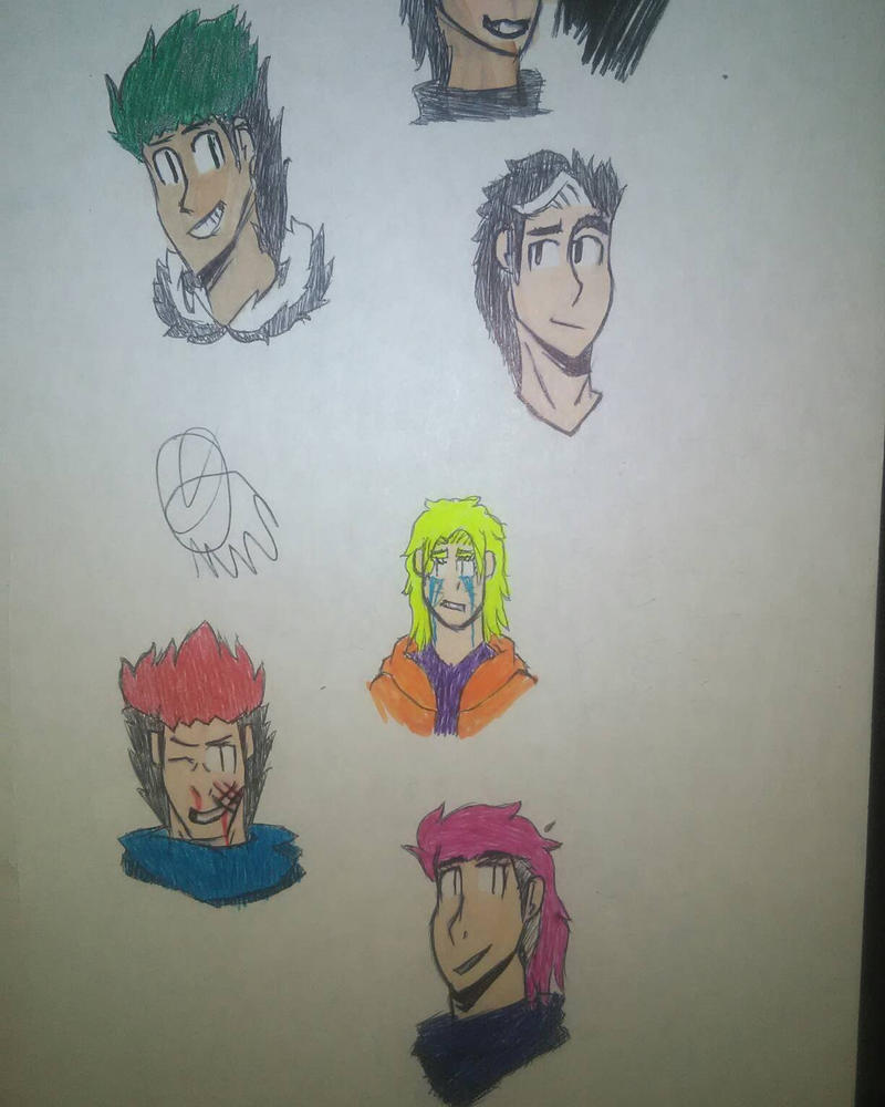 some sketches  by Sedworld15