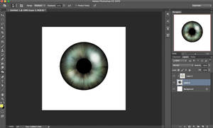 How To Make A Realistic Iris On Photoshop