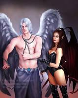 Kyciel and Morgan by itaXita