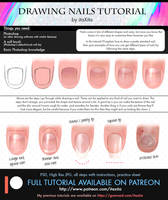 Drawing Nails Tutorial