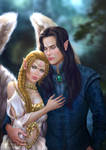 Elaine and Neh'taniel by itaXita