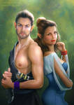 Aldwin and Aliyah by itaXita