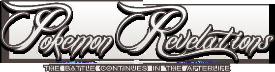 Pokemon Revelations Logo by ophiurida