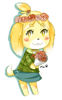 flower crown by Miss-Isabelle