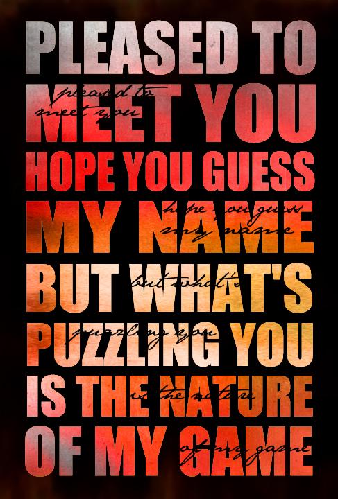 pleased to meet you lyrics stones taught