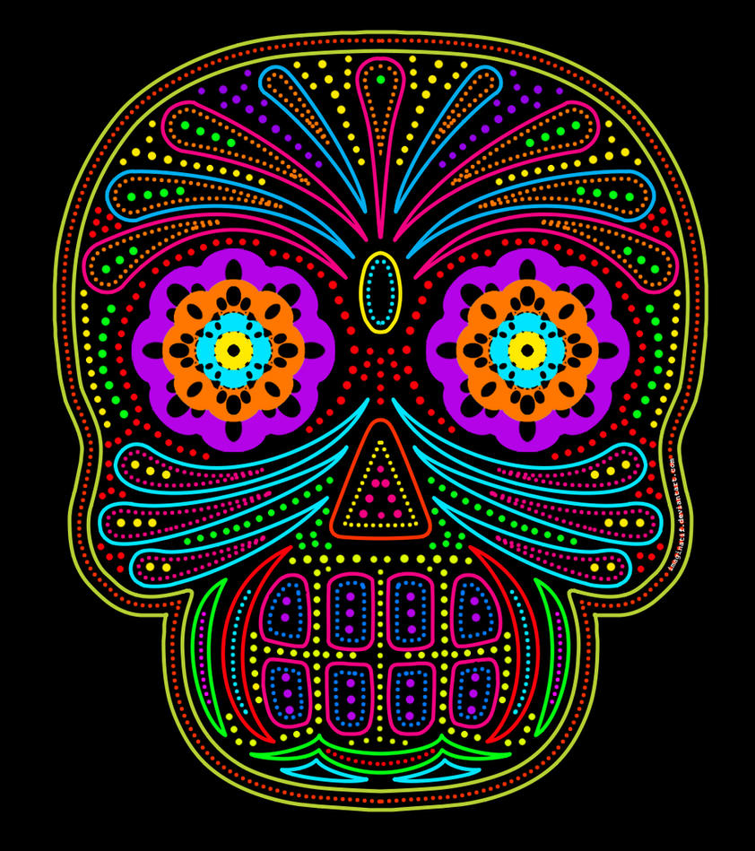 Mexican Skull by imaginatif