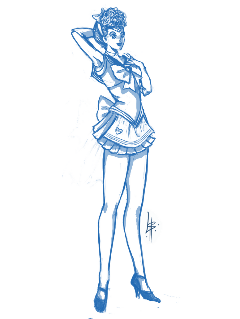 Sailor Lucy by sn4pdr4g0n