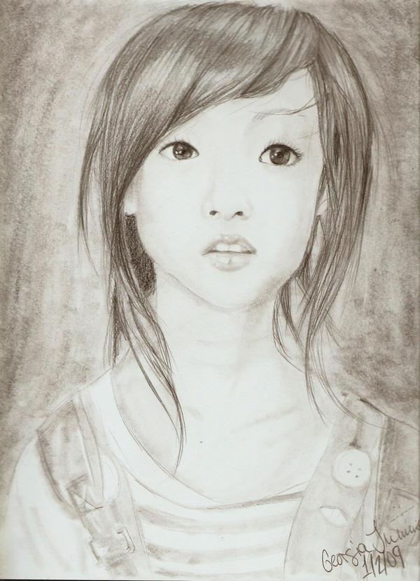 2009 Portrait Project. 1 by ImGunnaBiteYou