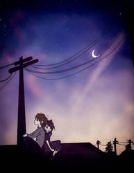 Together on the roof by magnumkiyoshi