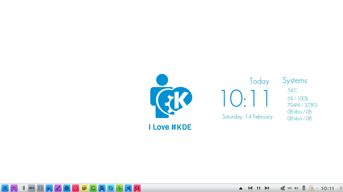 I Love #KDE by Baraary