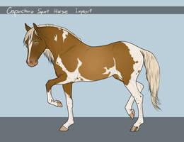 Capuchino Sport Horse - Import #75 by LeeyaKuchuk