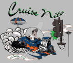 Cruise Nite shirt design