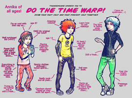 THE TIME WARP by yellowpin