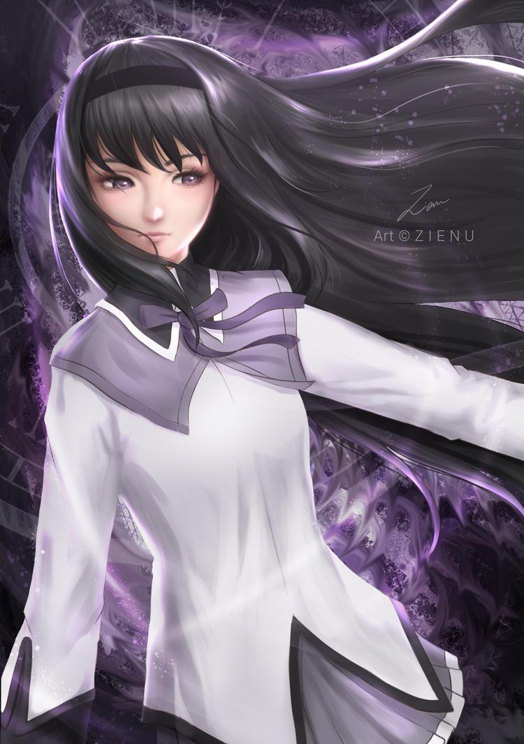 Homura Akemi by Zienu
