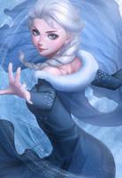Elsa (Artgerm Coloring) by Zienu