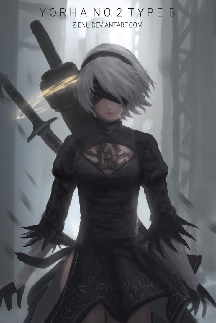 Premise Indicator Words: 2b Nier Automata (2016) By Zienu On DeviantArt