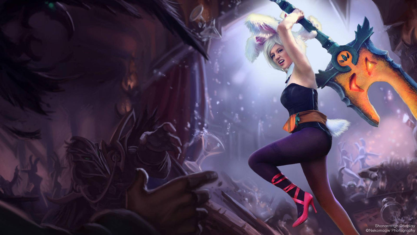 Riven battle bunny in game