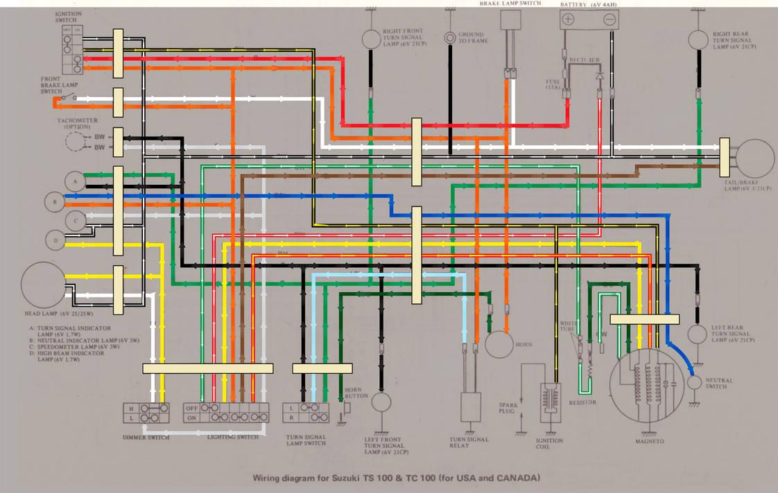 Suzuki Tc100 Wiring Diagram By 5bodyblade On Deviantart