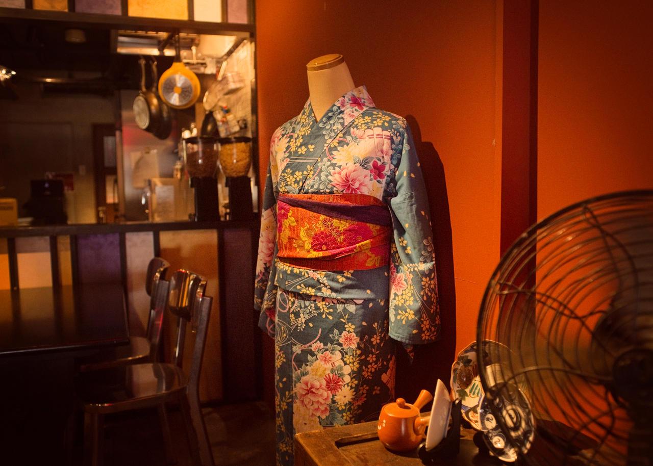 Yukata Kimono by 5bodyblade