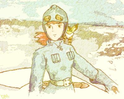 Nausicaa - Farewell to Flying Bug Friend