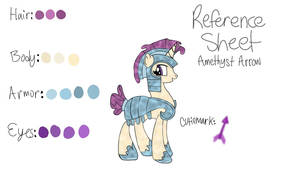 Amethyst Arrow - Ref