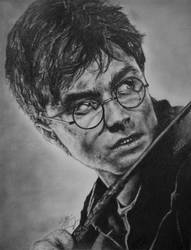 Harry Potter Drawing by rainyrose23