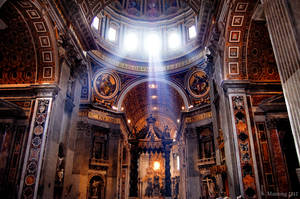 Church in Roma by rainyrose23