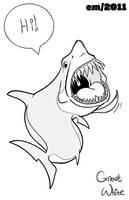 Shark: Great White by Wenamun