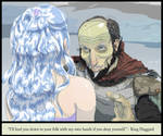 King Haggard and the lady Amalthea