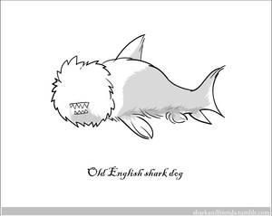 Old English Shark Dog