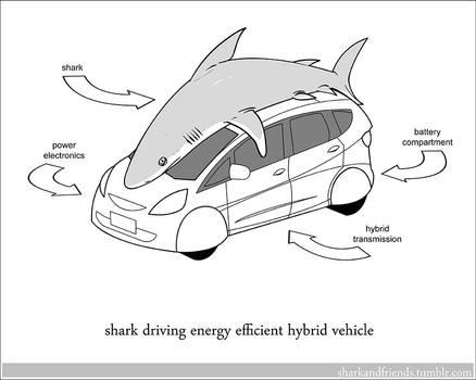 Hybrid Vehicle Shark