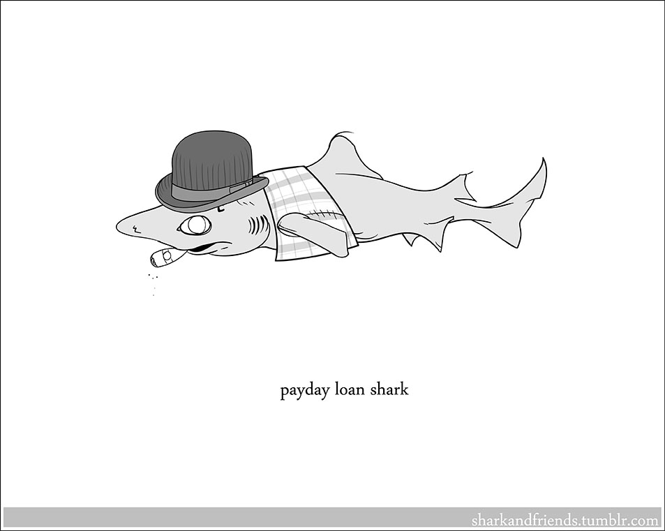 Payday Loan Shark by Wenamun