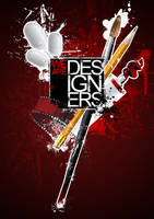 We Are Designers Poster by hashir