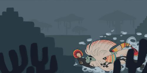 swammin' by glitterghostie