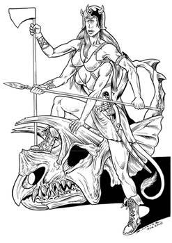 Zargal, a Hongol Warrior
