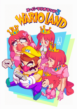 FanArt - Wario Land