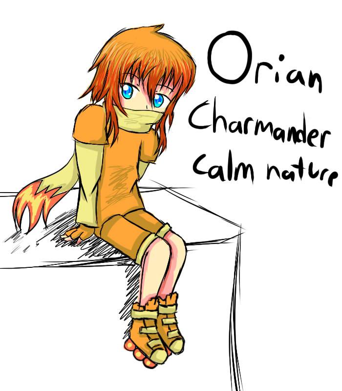 Orian Gijinka by xXScarletStarletXx