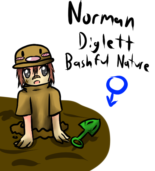 Norman Gijinka by xXScarletStarletXx